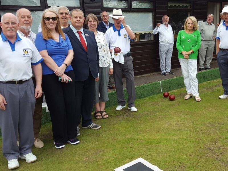 Leightons at Haslemere bowls club