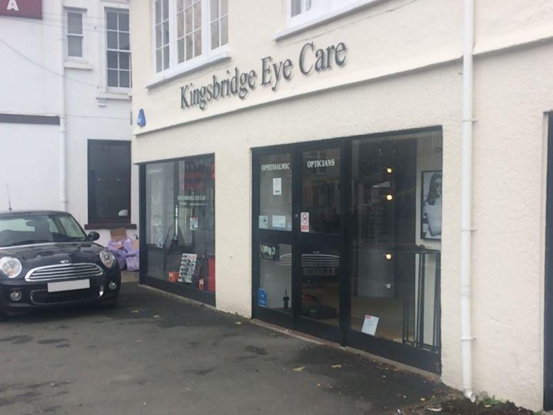 kingsbridge eye care exterior