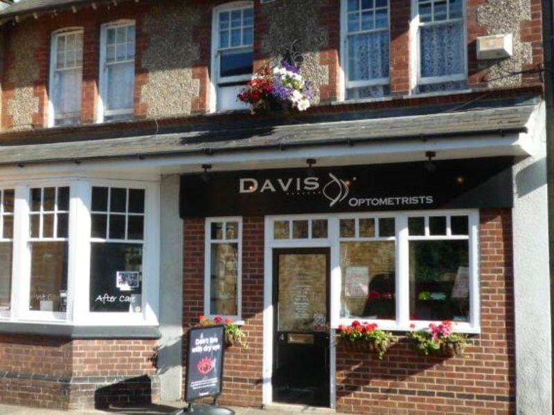 David optometrist rothwell exterior