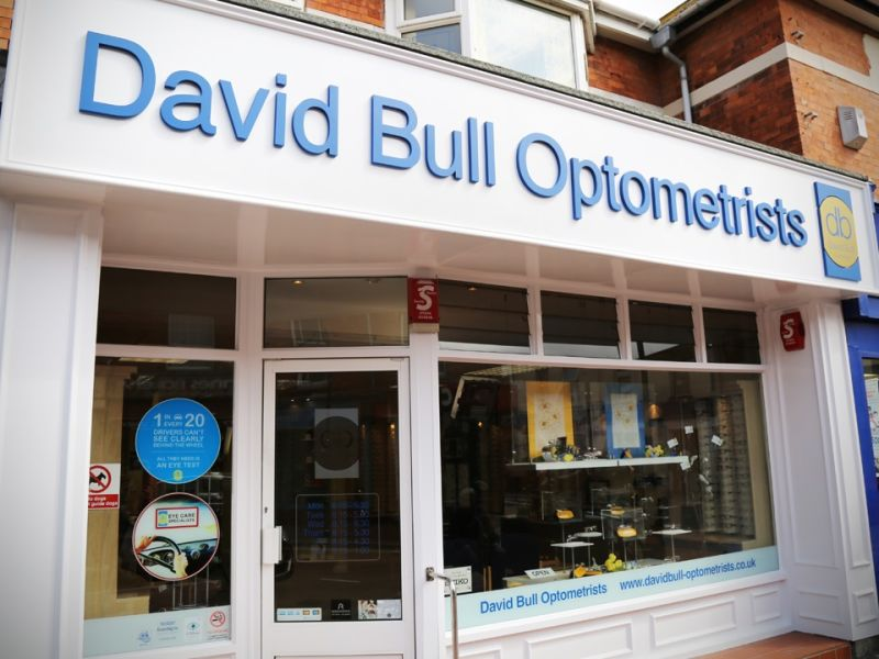 david bull optometrists exterior