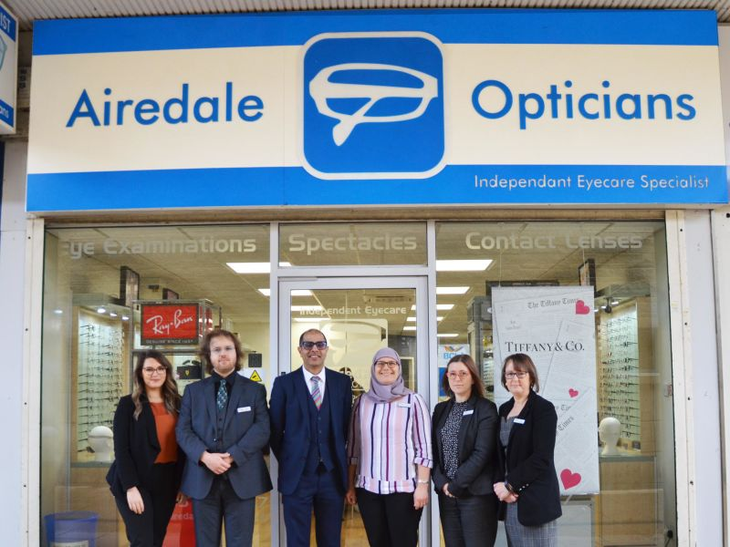 airedale opticians keighley exterior