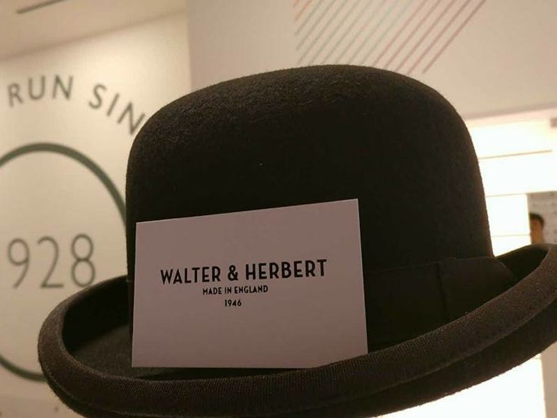 Walter and Herbert Bowler hat