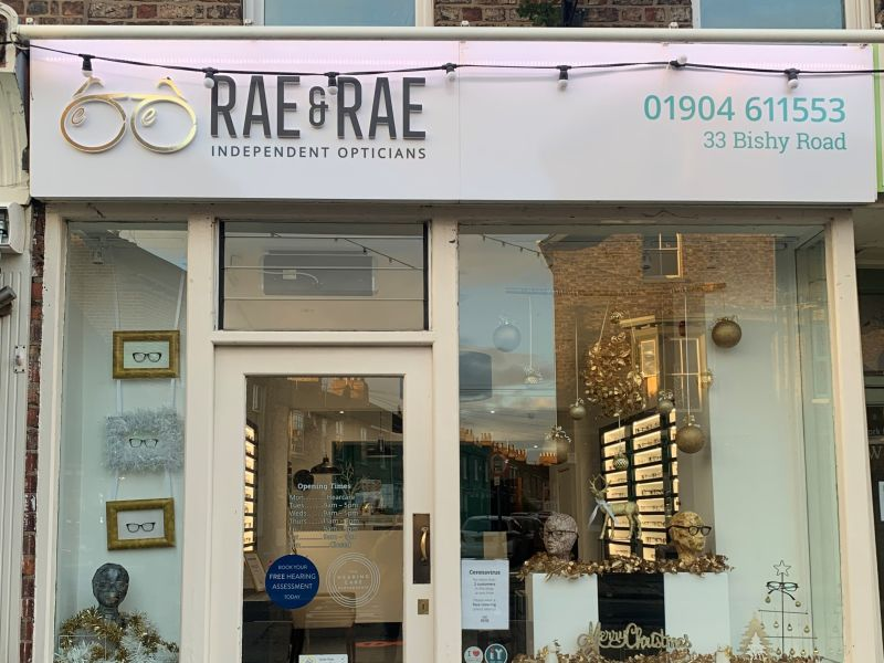 rae and rae opticians exterior