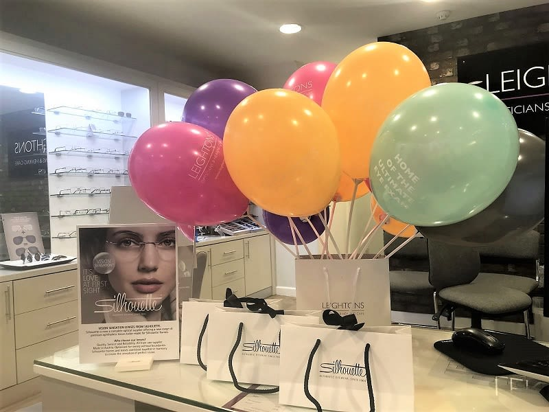 Silhouette event at Leightons store