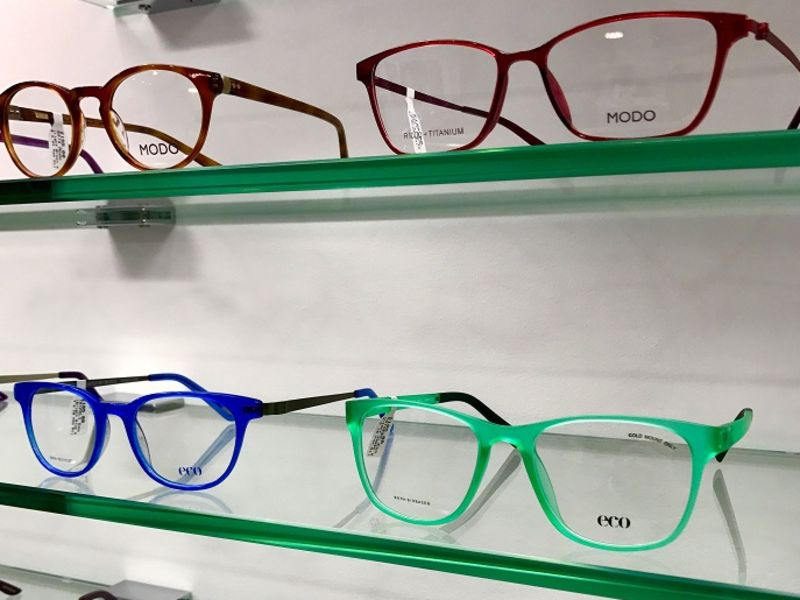 Selection of MODO glasses