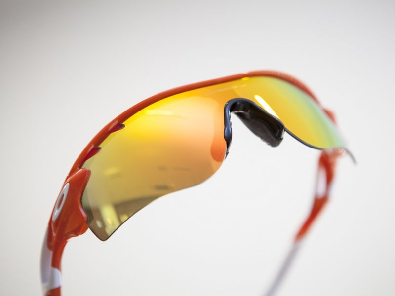 Pair of sport sunglasses