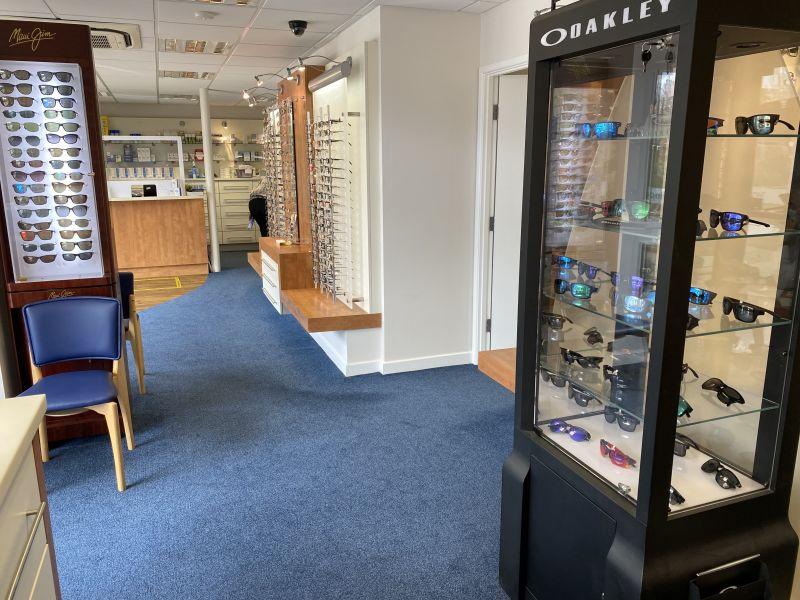 Shop Floor and Sunglasses