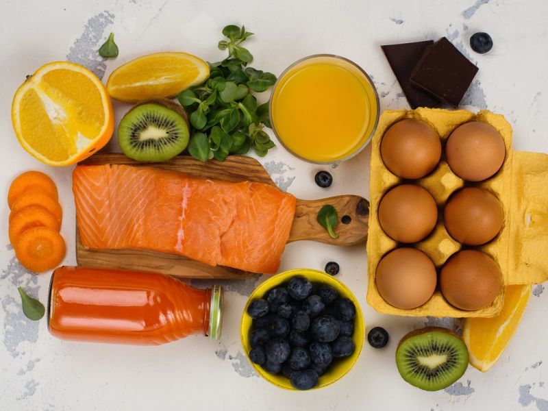 The New Year eye diet: foods that boost your vision