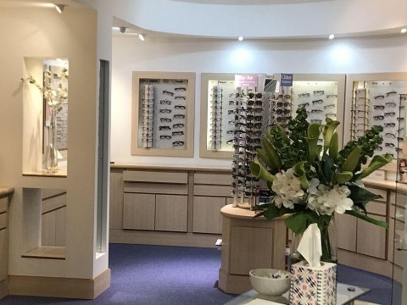 stony stratford opticians interior