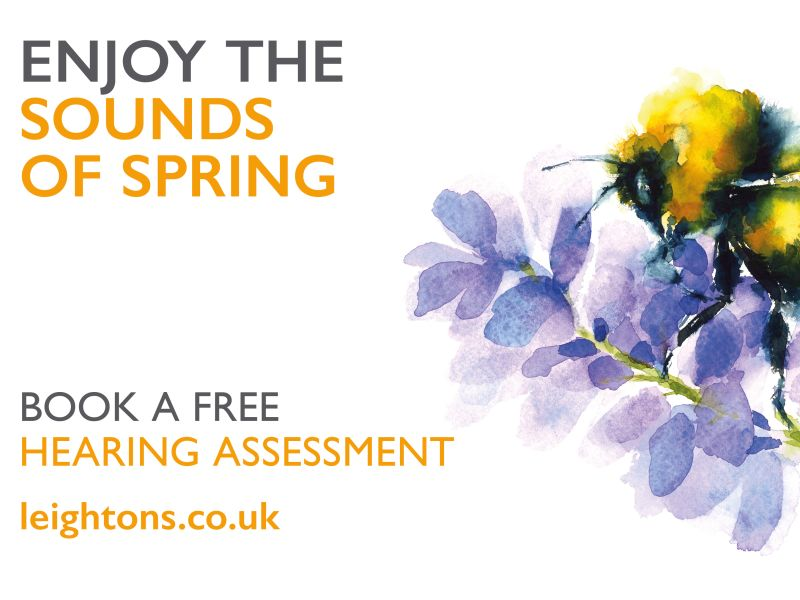 Leightons free hearing assessment advertisement