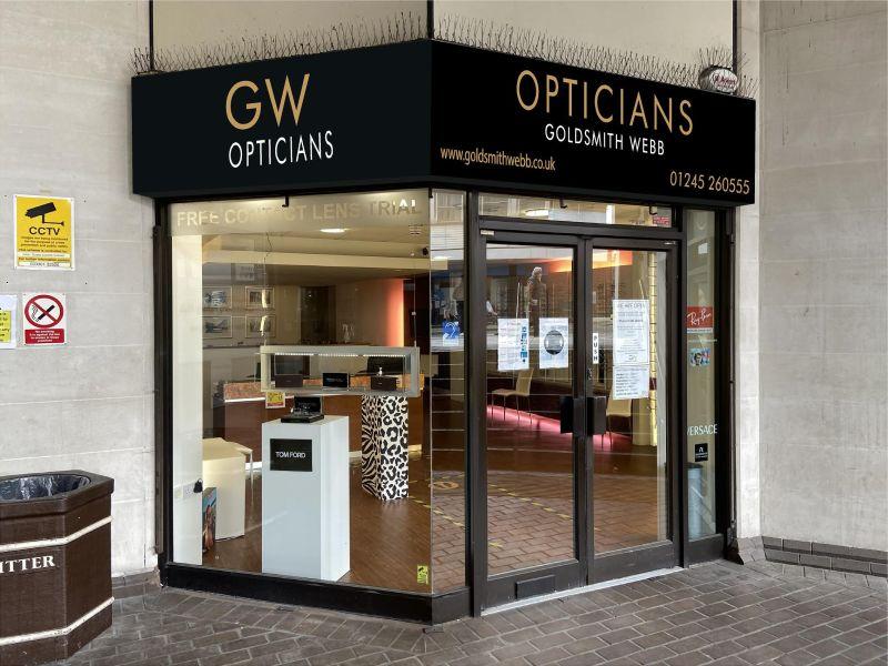 goldsmith webb opticians Chelmsford Exterior