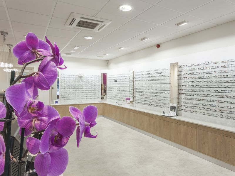 Leightons glasses display Chandlers Ford