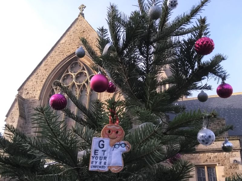 Festive fun at the Swindon Christmas Tree Festival