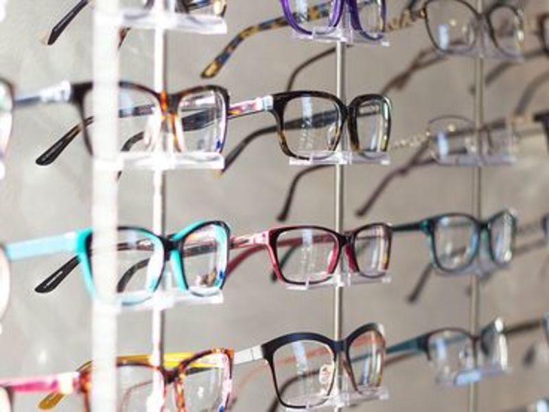 Close up of frames