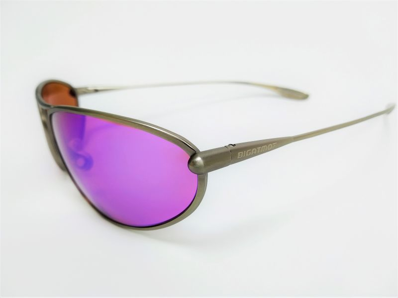Bigatmo sunglasses with purple lenses