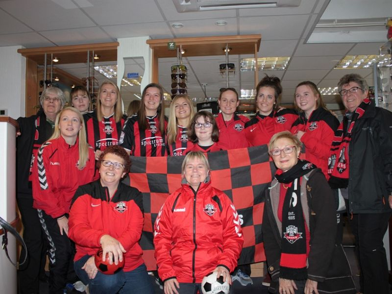 Lewes Ladies football team