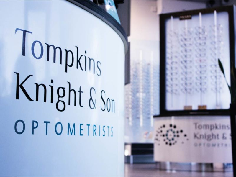 TKS optometrists sign