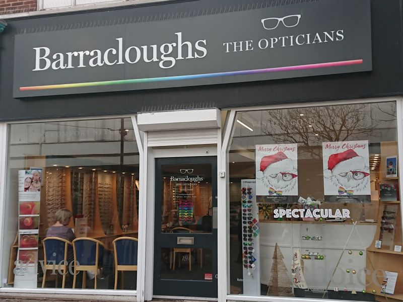 barracloughs opticians eastbourne