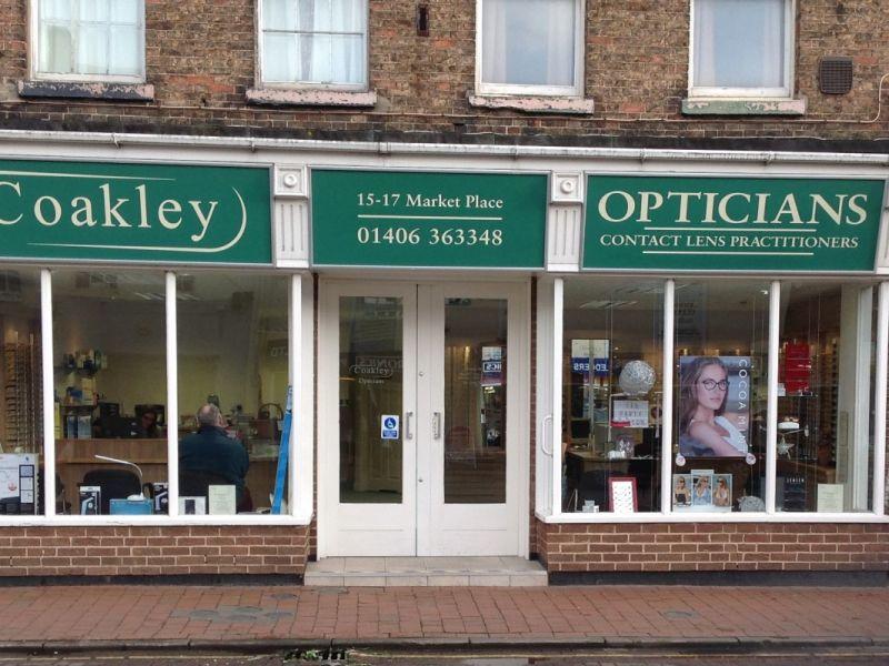 coakley opticians long sutton exterior