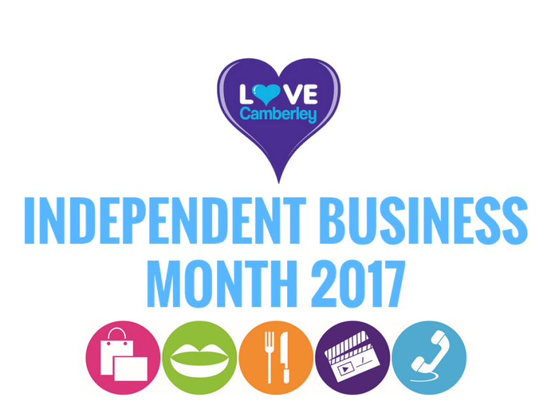 Camberley Independent Business Month 2017