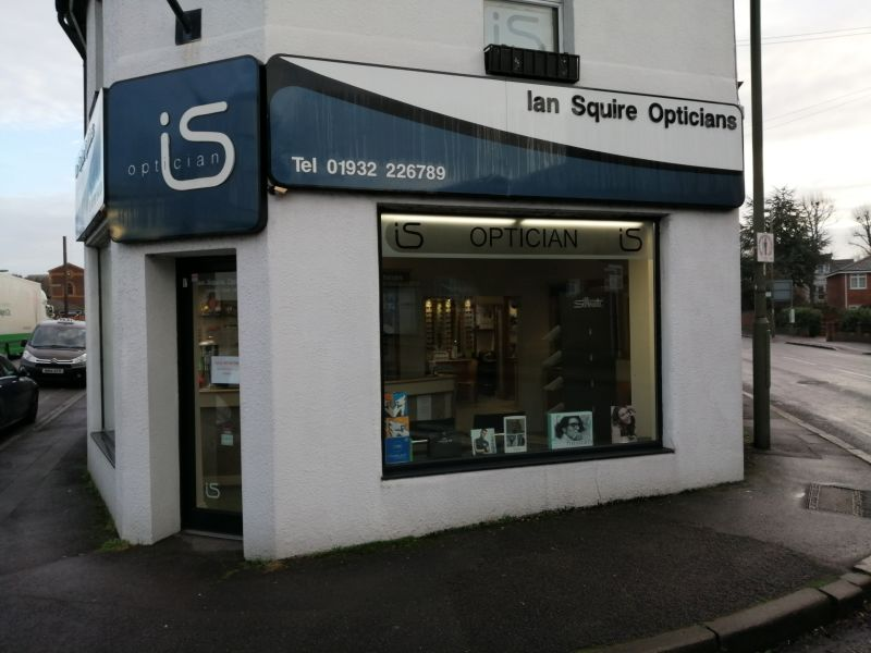Photo of Squire Opticians storefront