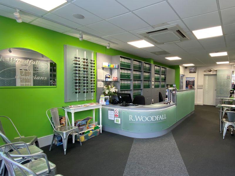 r woodfall opticians sydenham interior