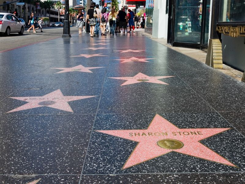 Hollywood Walk of Fame Sharon Stone