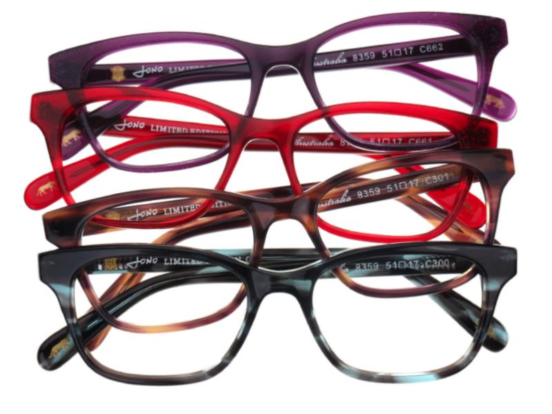 Selection of Jono Hennessy glasses