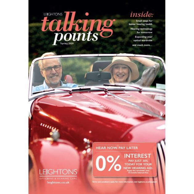 talking points front cover man and woman in car