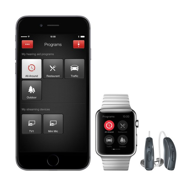 resound linx2 hearing aids iphone watch