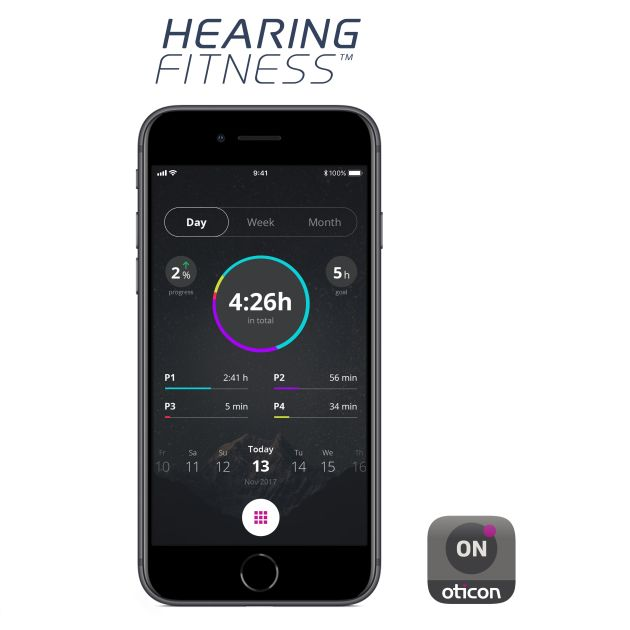 oticon hearing fitness app