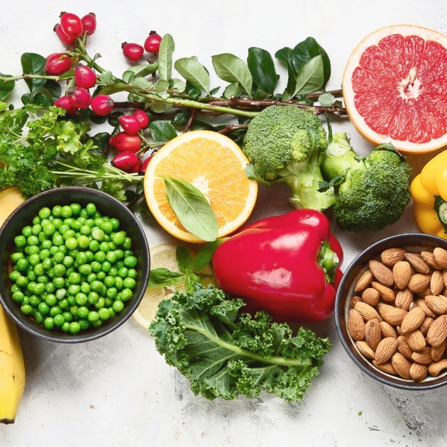 Fruit and vegetables: Healthy eating