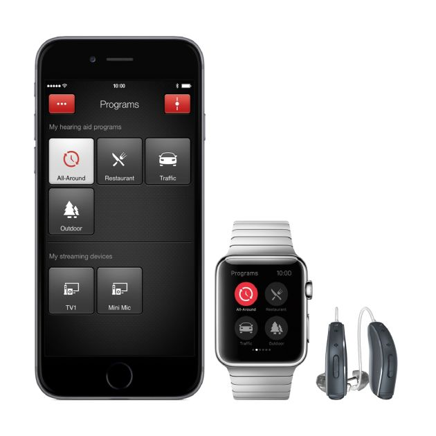 resound linx2 hearing aids iphone app apple watch