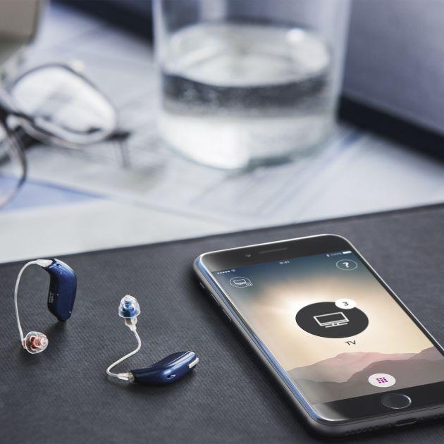 oticon hearing aids smartphone
