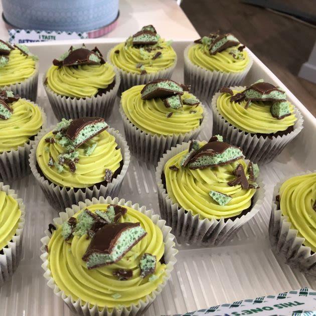 aero cupcakes