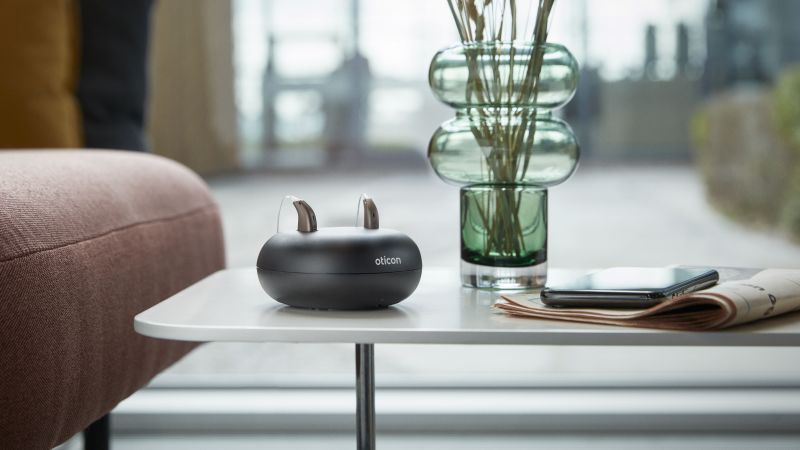 Turn up the volume on life with Oticon's hearing aids   THCP