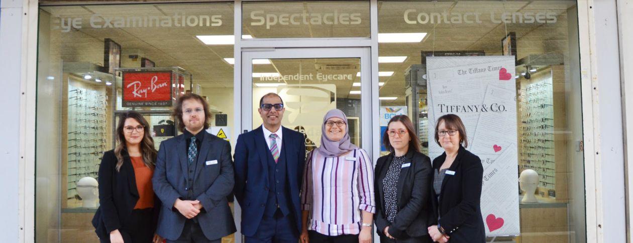 Airedale Opticians exterior