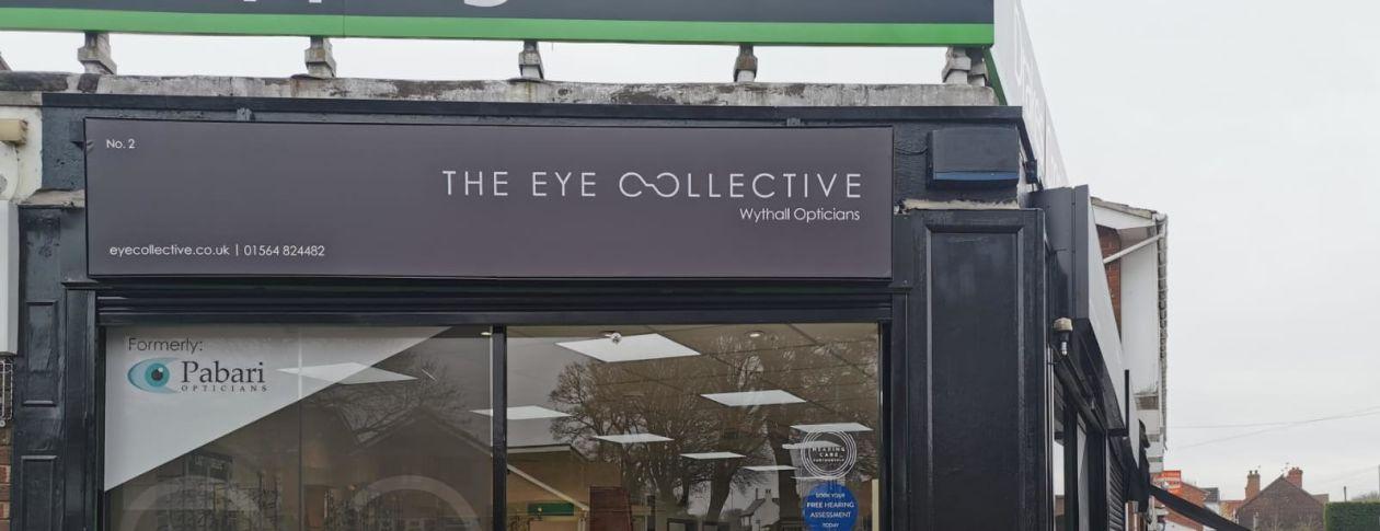 The eye collective exterior