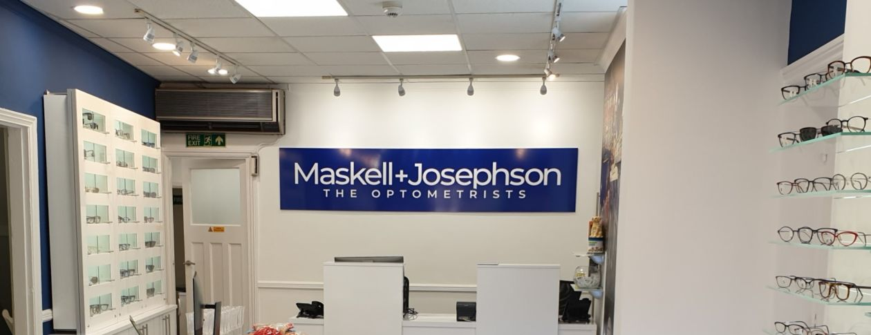 Maskell + Josephson The Optometrists interior