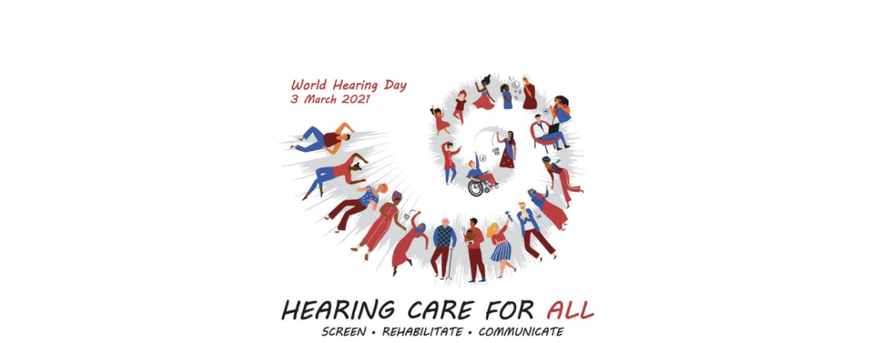 World Hearing Day March Graphic