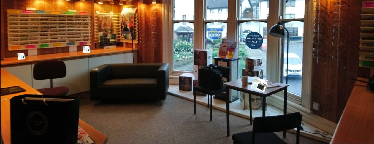 The Hearing Care Partnership opens in Wyman Opticians Pontypool