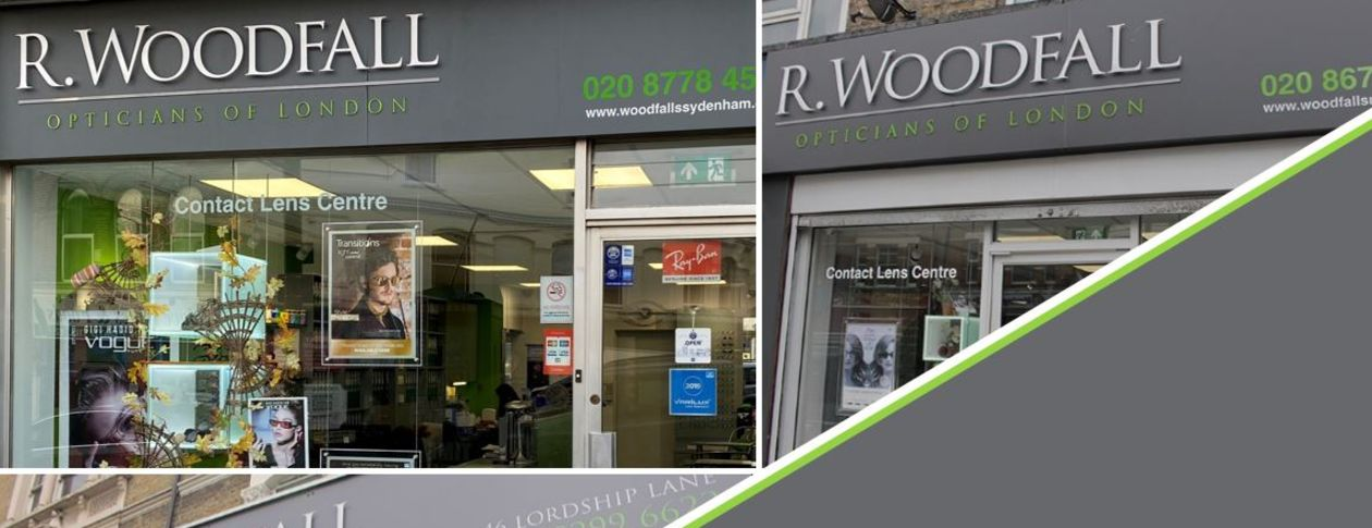 r woodfall opticians practices