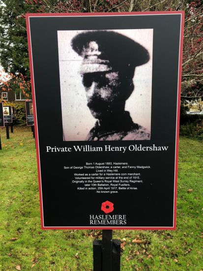 private william henry oldershaw