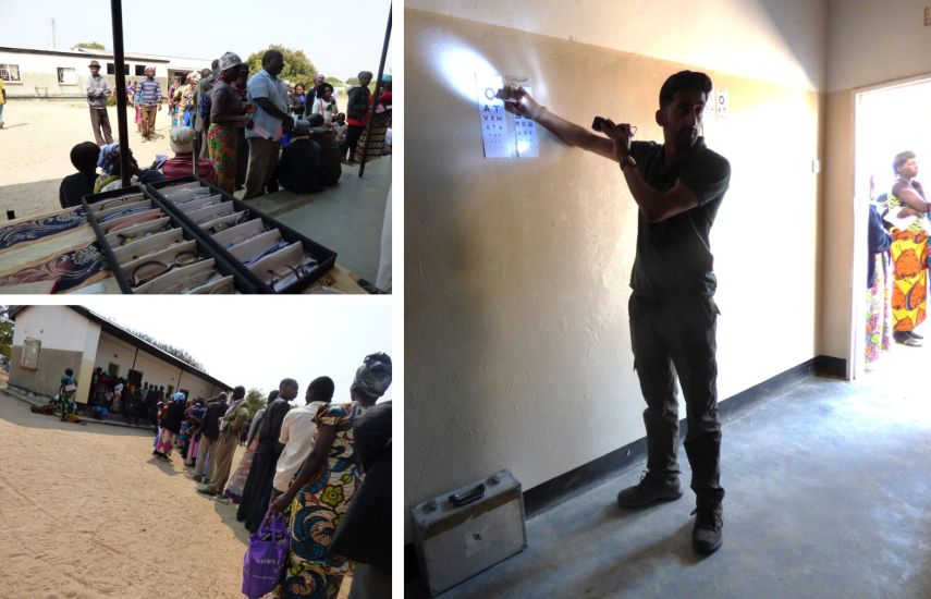 Working in Zambia with Vision Aid