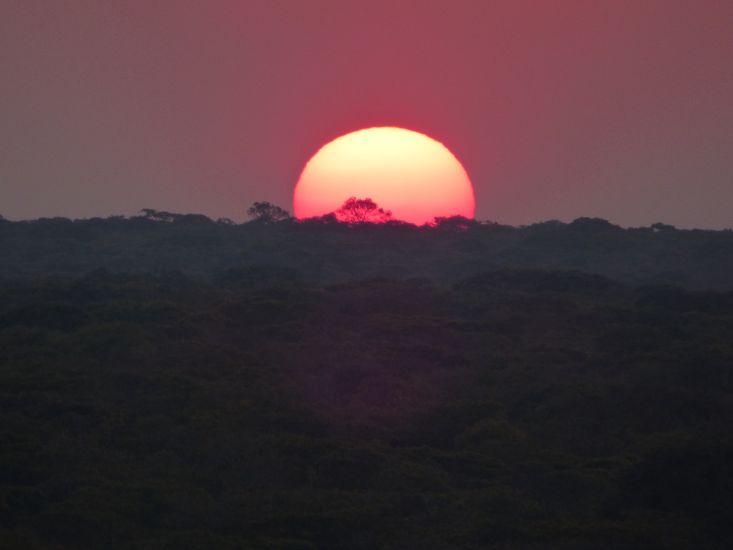 Sunset in Zambia