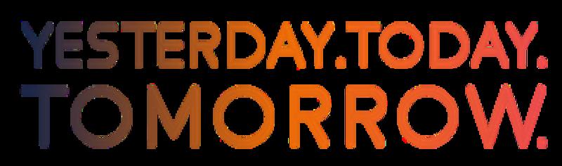 yesterday today tomorrow logo