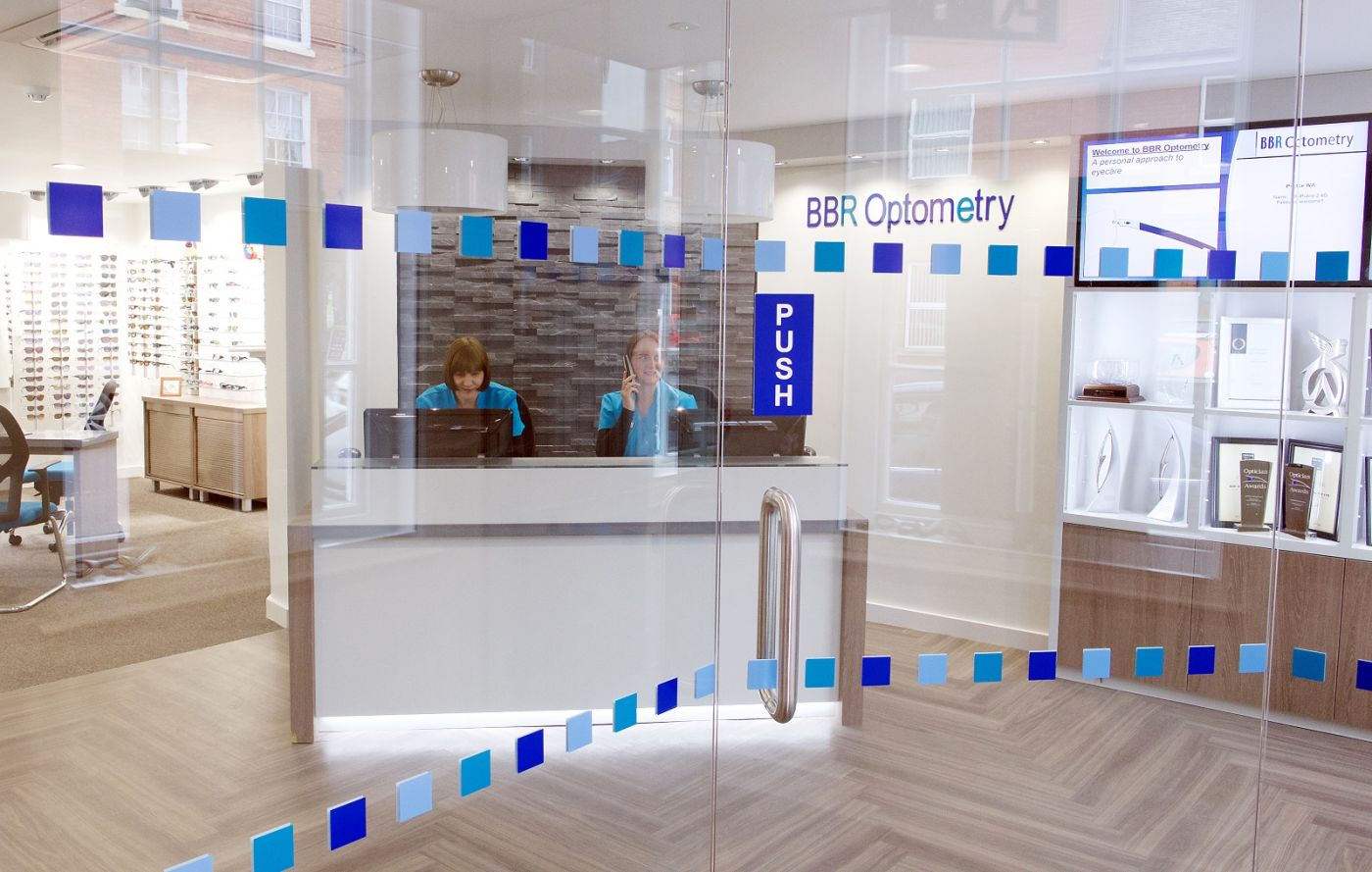 BBR Optometry entrance