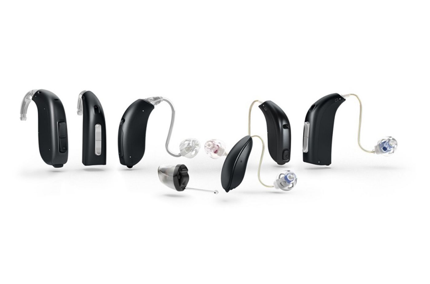 Main types of hearing aids