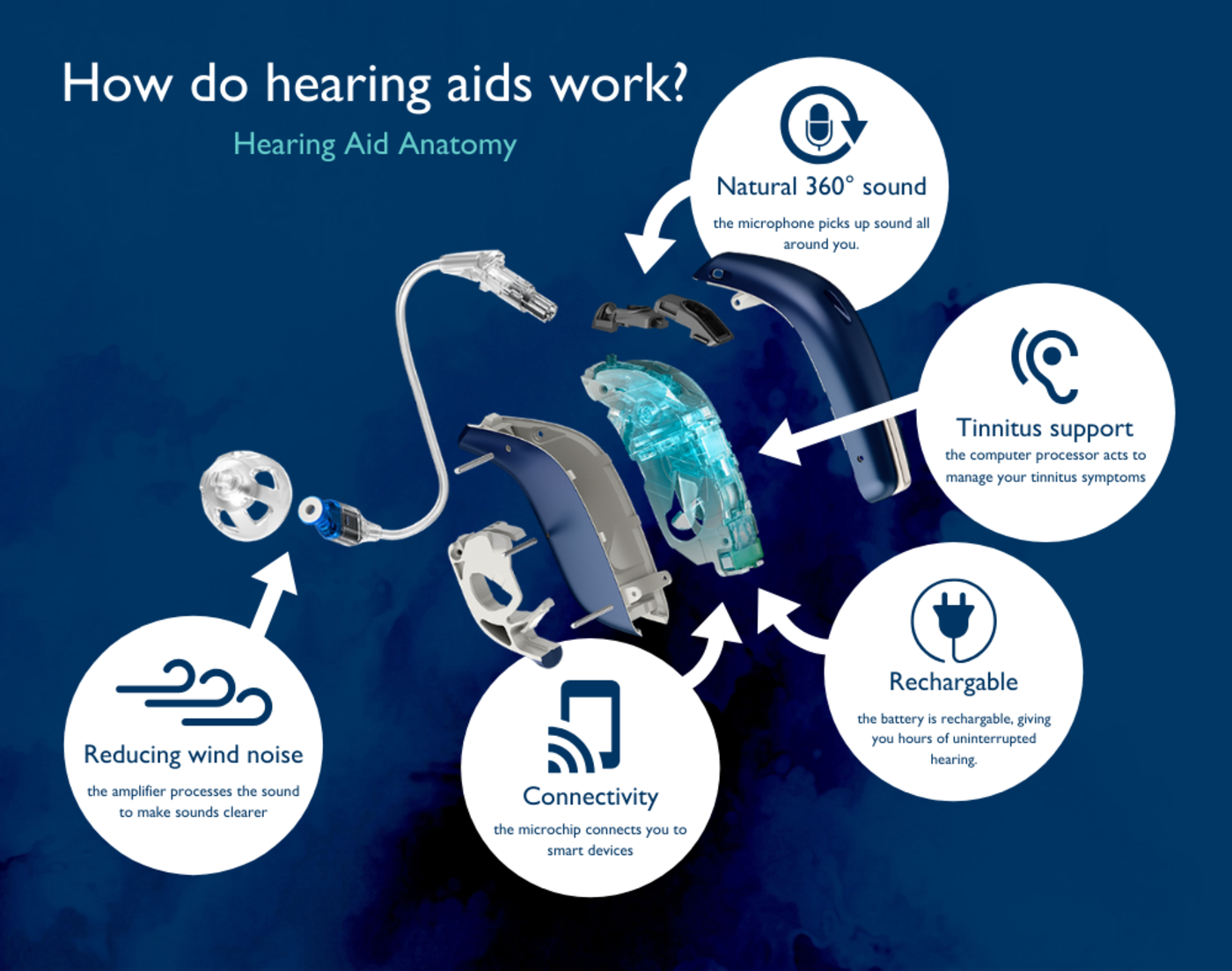 How do hearing aids work diagram