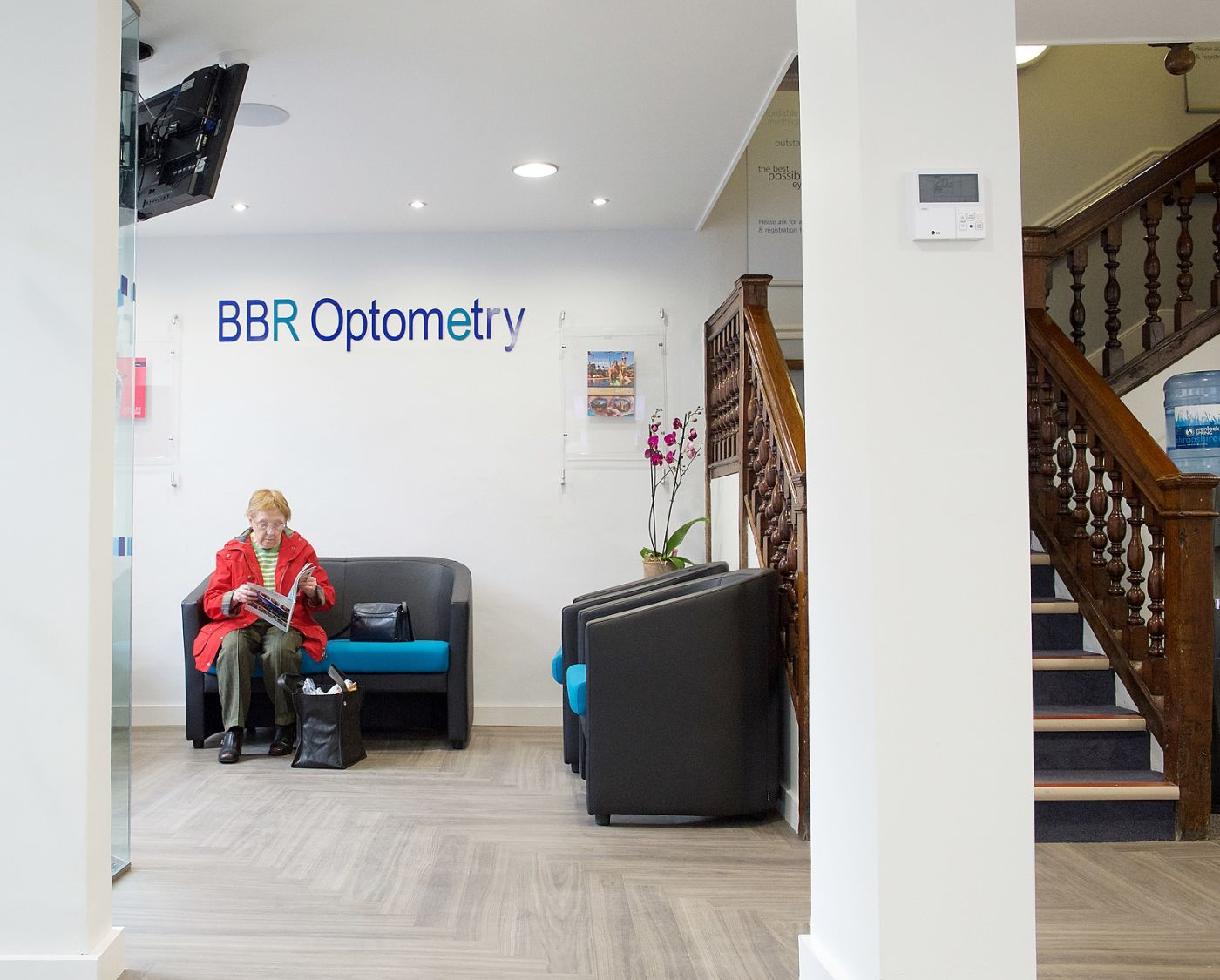 BBR Optometry waiting room